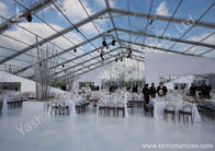 Chine Outdoor Transparent PVC Cover Luxury Wedding Tents Wind Resistant usine