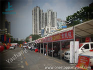 Small Width PVC Fabric Outdoor Car Exhibition Tent Preventing from Ultraviolet