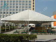 UV Resistant and Waterproof Aluminum Alloy Outdoor Event Tent White PVC Fabric Cover