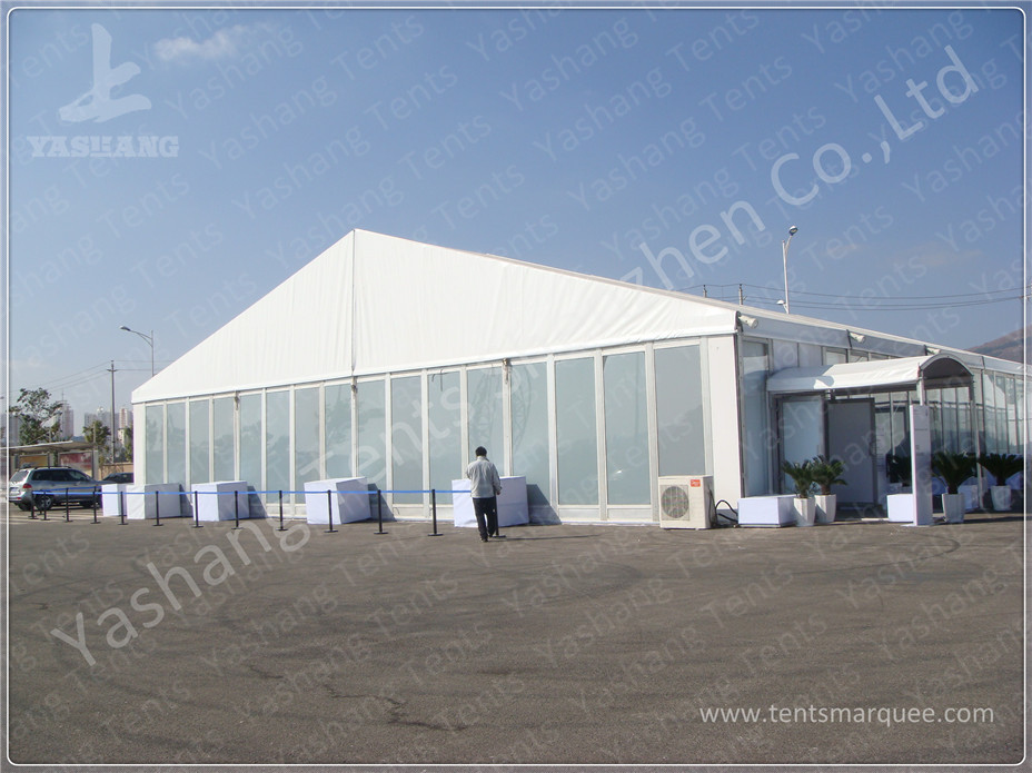 Professional Sturdy Large Outdoor Event Tent Rentals for New Product Launch Training