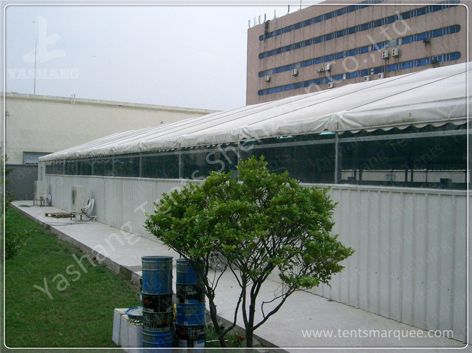Sliding Gate Industrial Large Storage Tents , Temporary Tent Structures