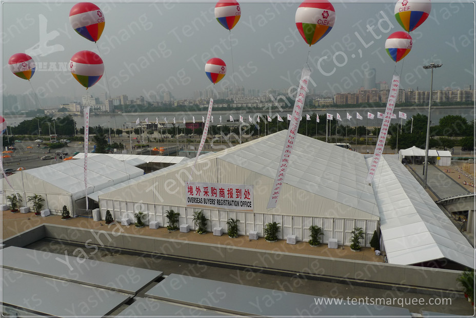 Big Solid ABS Wall Aluminium Frame Marquee Commercial Renting Tents For Events
