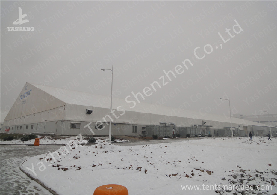 Snow Load Temporary Industrial Warehouse Tent With Functional Container
