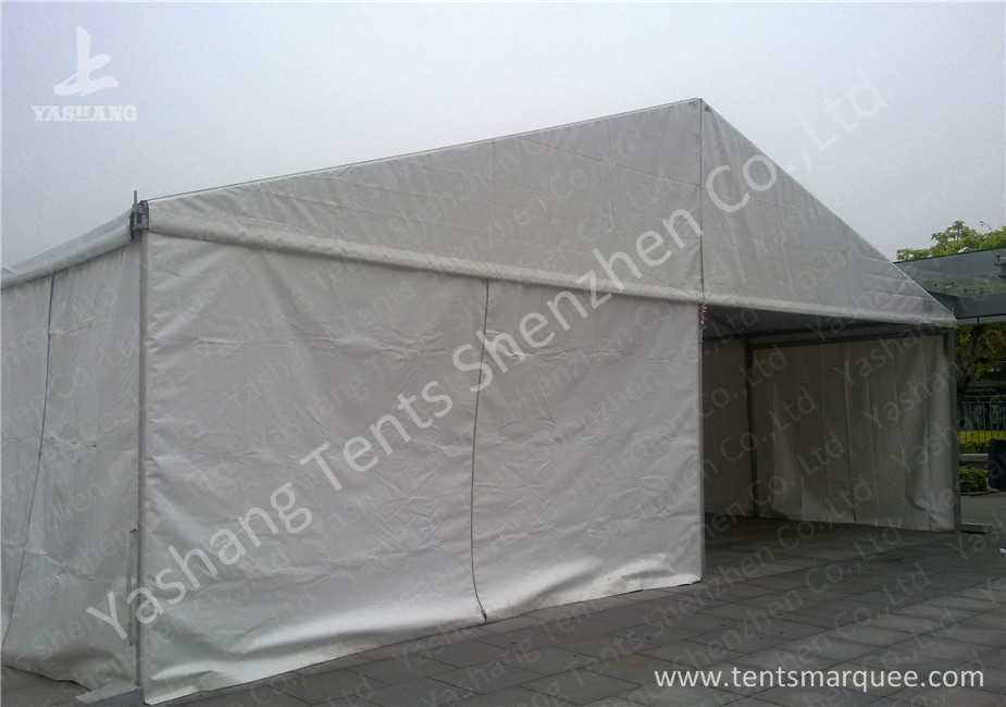 Hard Extruded Stainless Aluminium Frame Marquee 10m Wide Length Extended