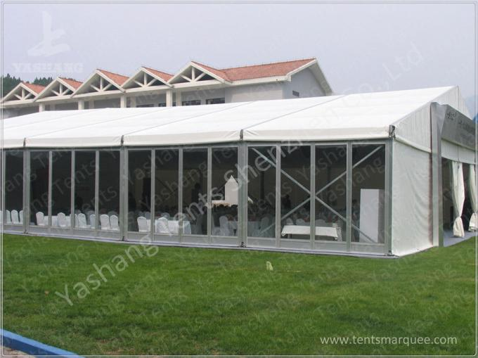 Clear Span Windproof 10x18m Outdoor Exhibition Tents Stable And Reliable