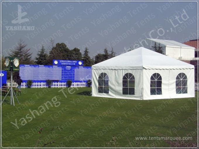 Hard ABS and Transparent Glass Wall Outdoor Aluminum Profile Car Exhibition Tent