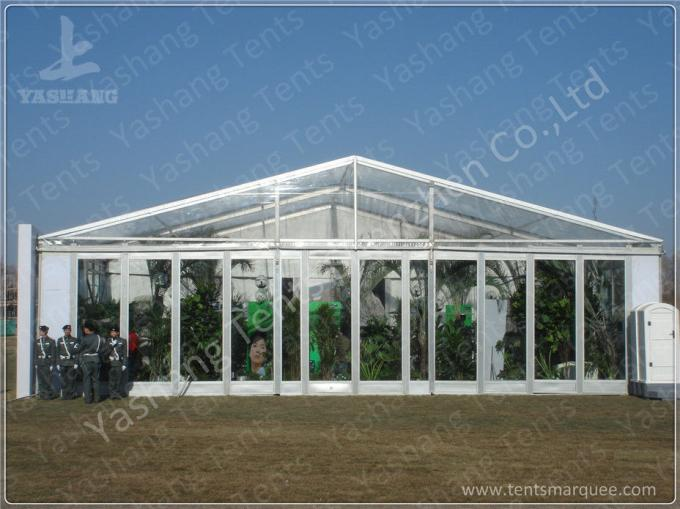 Professional 1500 sqm Aluminium Frame Tents Industrial Canopy For Car Parking Lot