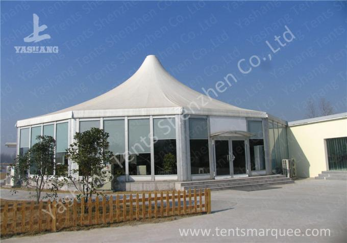 Show Event High Peak Tents Pagoda Marquee Hire , Outdoor Gazebo Tent Eco Friendly