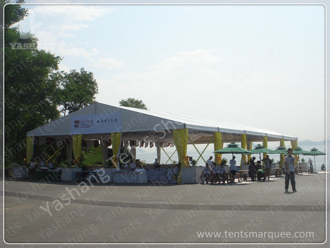 Rustless Aluminum Frame Outdoor Event Tent for Sound Facilities Exhibition